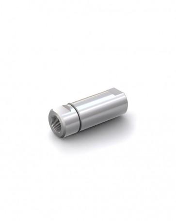 "Clapet anti-retour acier inox - G 1/2"" femelle / G 1/2"" femelle - max. 250 bar - DN 14 mm"