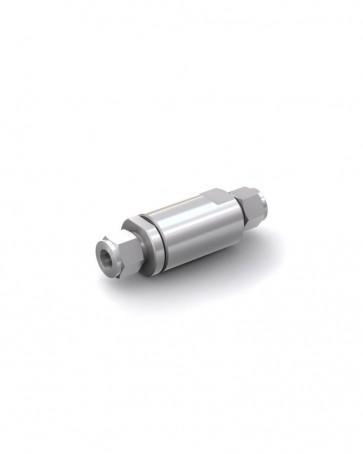 Clapet anti-retour acier inox - tube Ø 12 mm / tube Ø 12 mm - max. 150 bar - DN 10 mm