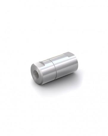 "Clapet anti-retour acier inox - G 1/8"" femelle / G 1/8"" femelle - max. 250 bar - DN 6 mm"