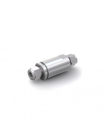 Clapet anti-retour acier inox - tube Ø 12 mm / tube Ø 12 mm - max. 250 bar - DN 10 mm