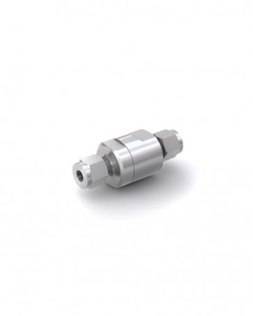 Clapet anti-retour acier inox - tube Ø 6 mm / tube Ø 6 mm - max. 250 bar - DN 5 mm