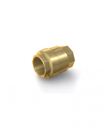 "Clapet anti-retour laiton - G 1 1/2"" interne / G 1 1/2"" interne - max. 25 bar - DN 40 mm"