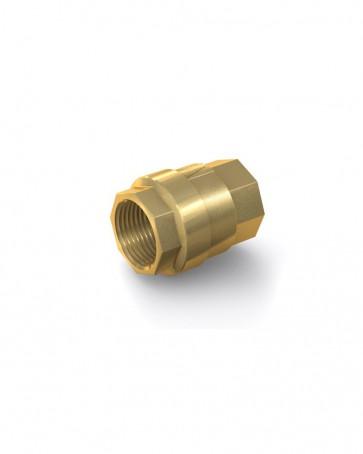 "Clapet anti-retour laiton - G 1 1/4"" interne / G 1 1/4"" interne - max. 25 bar - DN 32 mm"