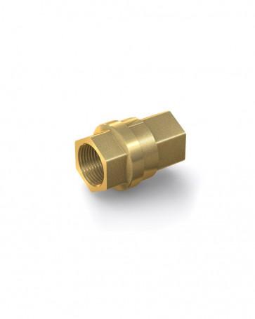 "Clapet anti-retour laiton - G 3/4"" interne / G 3/4"" interne - max. 30 bar - DN 20 mm"