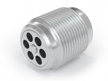 Clapet anti-retour acier inox - M18x1,5 mâle / M18x1,5 mâle - max. 250 bar - DN 7 mm
