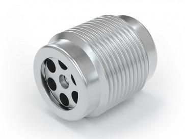 "Clapet anti-retour acier inox - G1/4"" mâle / G 1/4"" mâle - max. 250 bar - DN 6 mm"