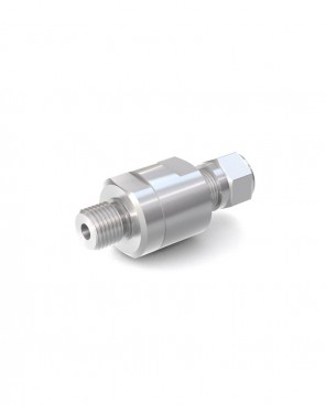"Clapet anti-retour acier inox - tube Ø 8 mm / G 1/4"" mâle - max. 250 bar - DN 6 mm"