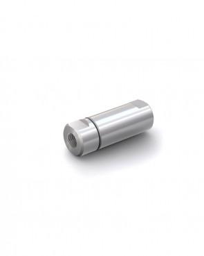 "Clapet anti-retour acier inox - G 3/8"" interne / G 3/8"" interne - max. 250 bar - DN 14 mm"