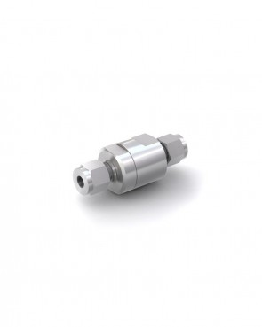Clapet anti-retour acier inox - tube Ø 8 mm / tube Ø 8 mm - max. 150 bar - DN 6 mm