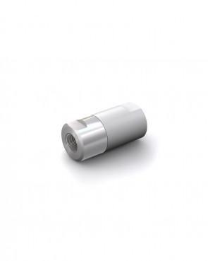 "Clapet anti-retour acier inox - G 1/4"" femelle / G 1/4"" femelle - max. 250 bar - DN 6 mm"