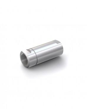 "Clapet anti-retour acier inox - G 1"" femelle / G 1"" femelle - max. 250 bar - DN 20 mm"