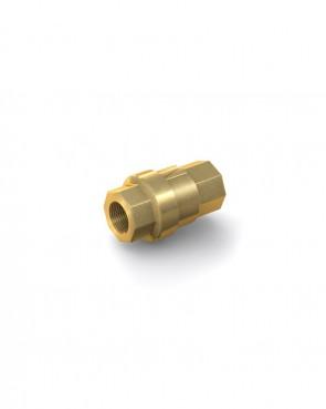 "Clapet anti-retour laiton - G 1/4"" interne / G 1/4"" interne - max. 40 bar - DN 8 mm"