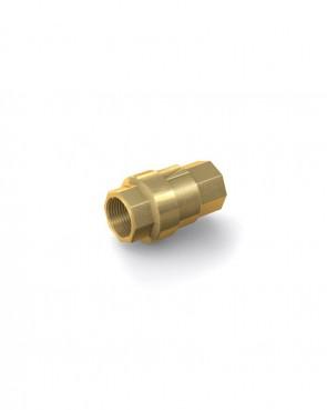"Clapet anti-retour laiton - G 3/8"" interne / G 3/8"" interne - max. 40 bar - DN 10 mm"